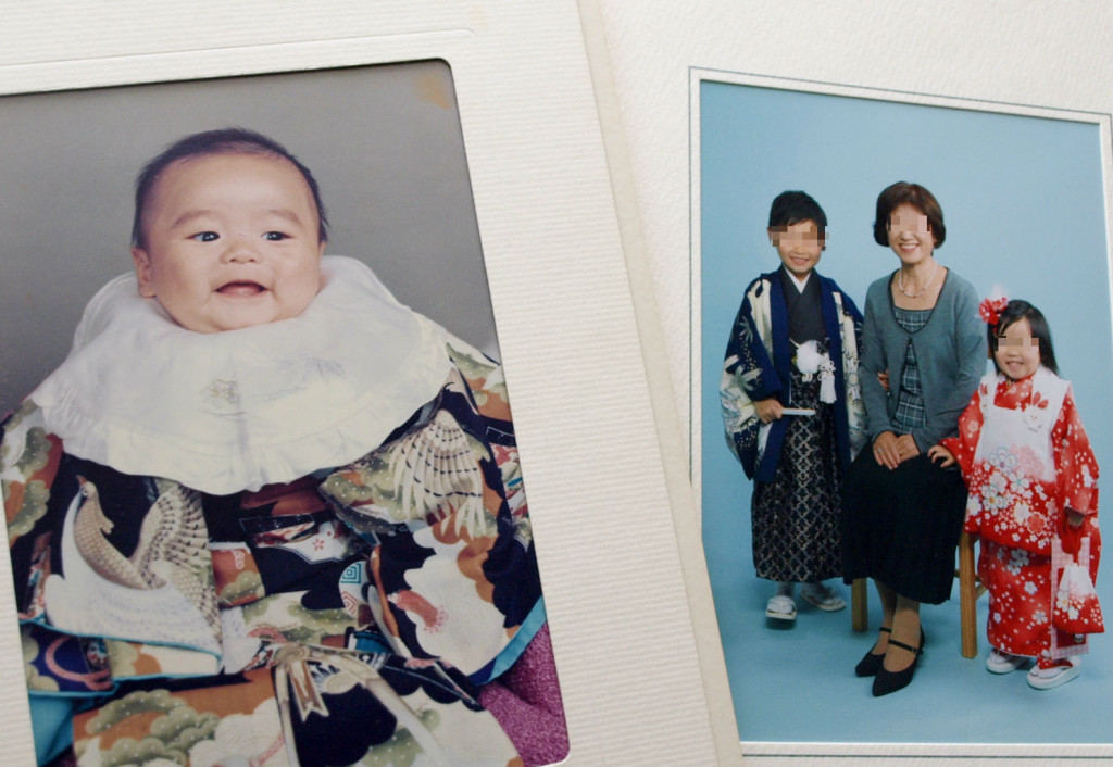 7-5-3 family photo