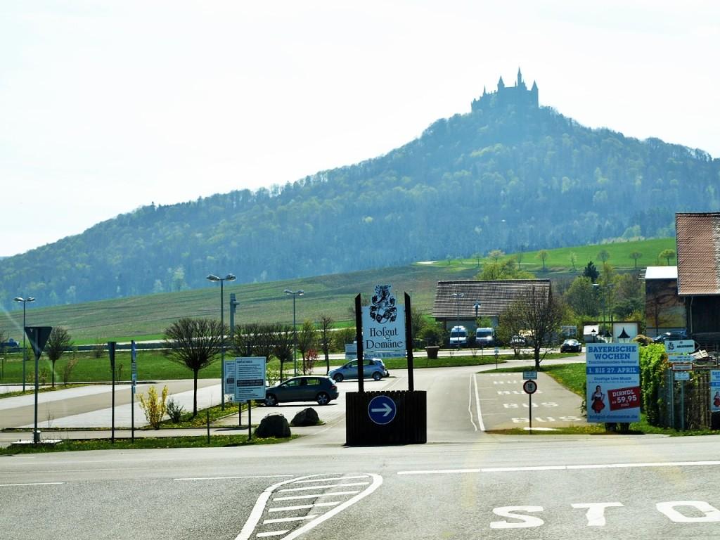ホーエンツォレルン城遠景