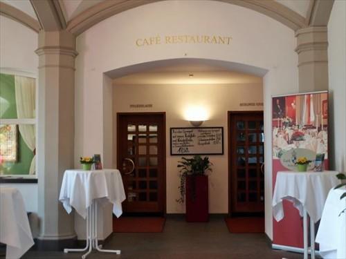 ホーエンツォレルン城のレストラン