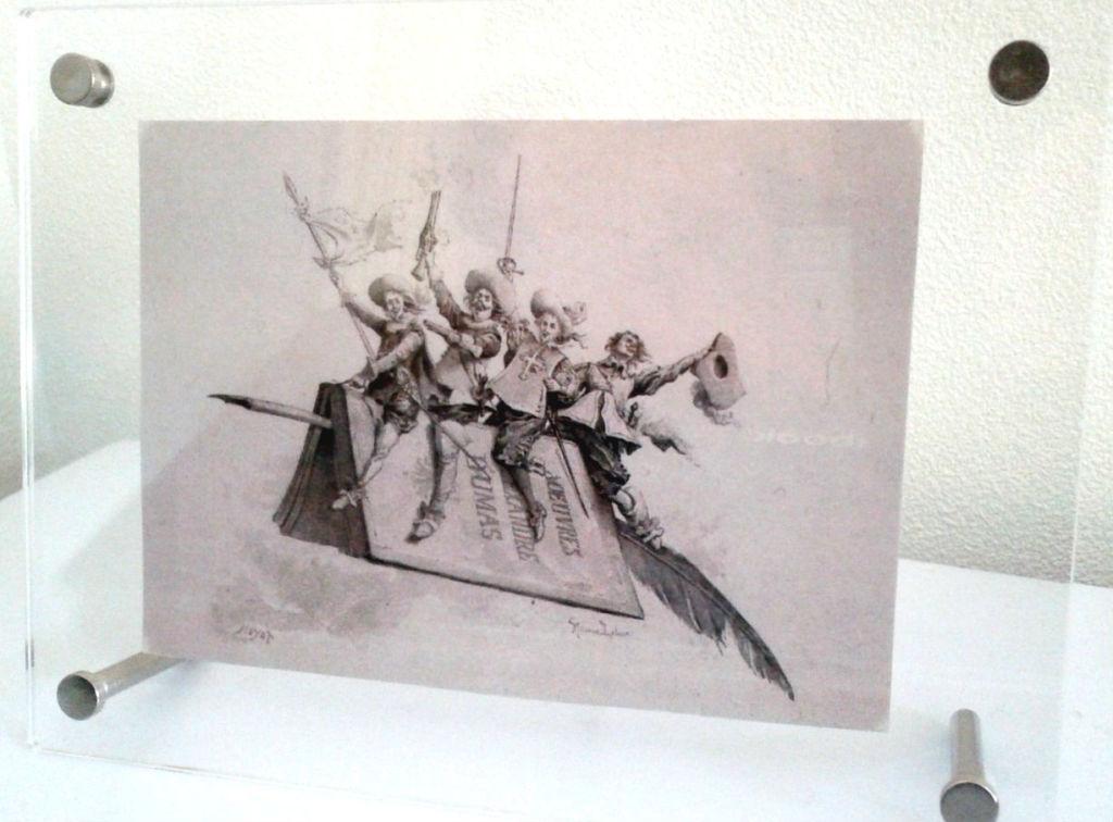 『三銃士』挿絵