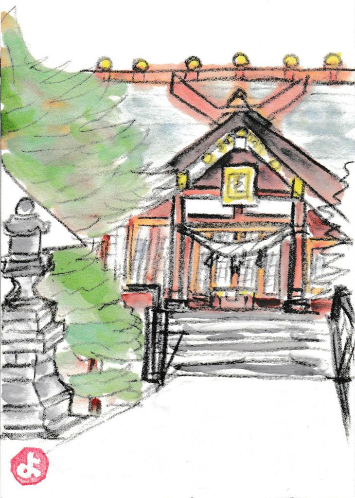絵手紙神社