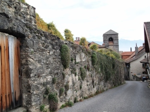 サン・サフォランの入り口