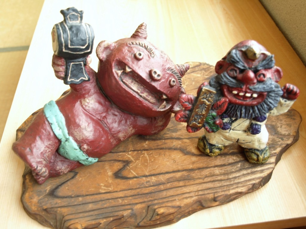 Left: Ogre