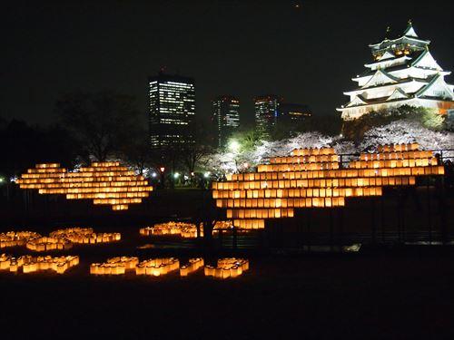 大阪城_桜