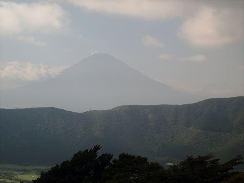 ロープウェイからの富士