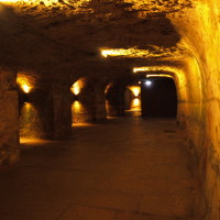 Nuremberg's historic rock-cut cellars