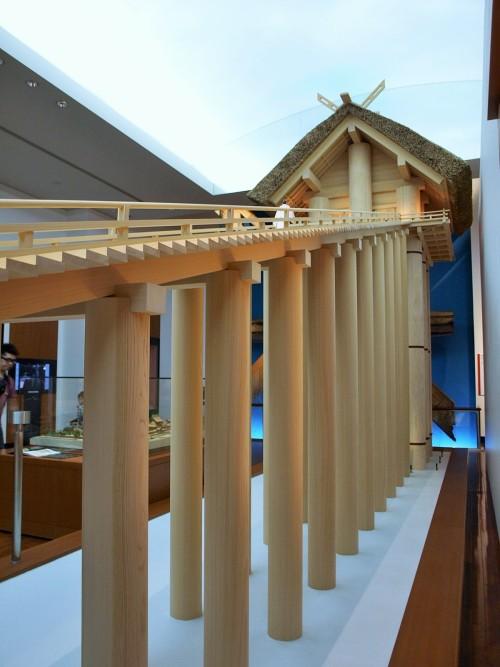 巨大神殿模型