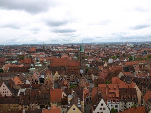 ニュルンベルクの街並み