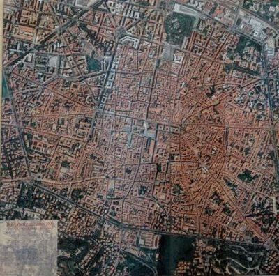 ボローニャ旧市街俯瞰図