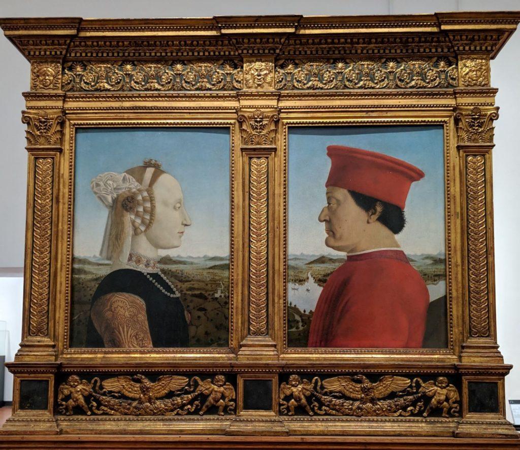 ウルビーノ公爵夫妻の肖像