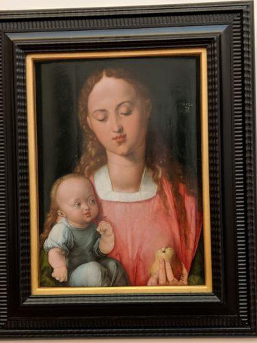 聖母子(デューラー作1526年)