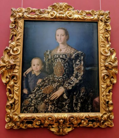 Eleonora of Toledo with her son Giovanni de' Medici, 1550
