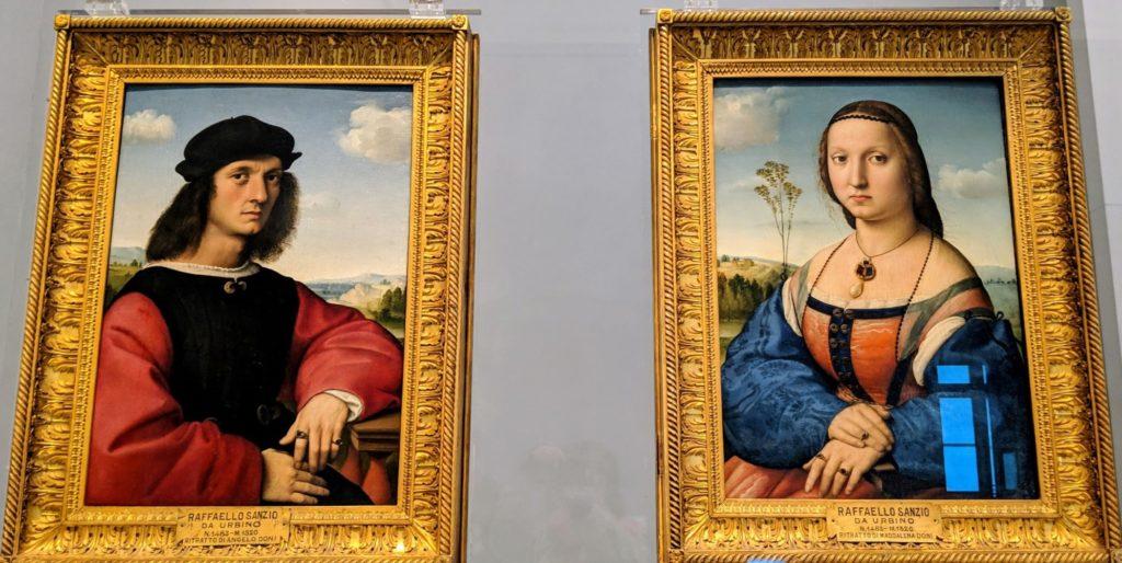 フィレンツェ ウフィツィ美術館より