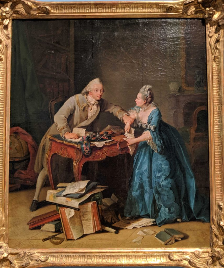 Torn Between Science and Marriage Georg Melchior Kraus(1770/76)