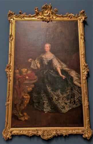 マリア・テレジアの肖像画(1745/50)