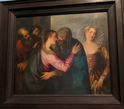The Visitation with a Fashionably Dressed Venetian Woman(1596)