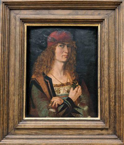 花婿の肖像画(1498)デューラー作