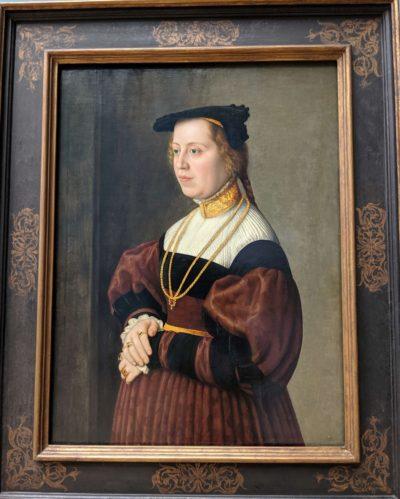 31歳女性の肖像画(1535)