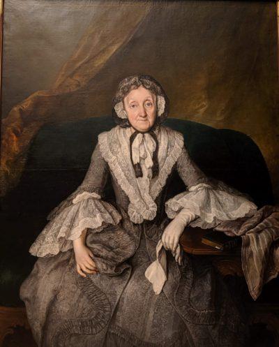 地位の高い老女の肖像画(ベルリン1755/70)