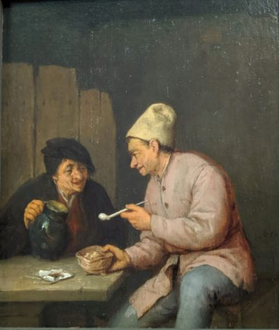 Smoker and drinker in a tavern(17世紀)