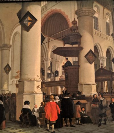 Sermon in the Oude Kerk, Delft(1658-1660)