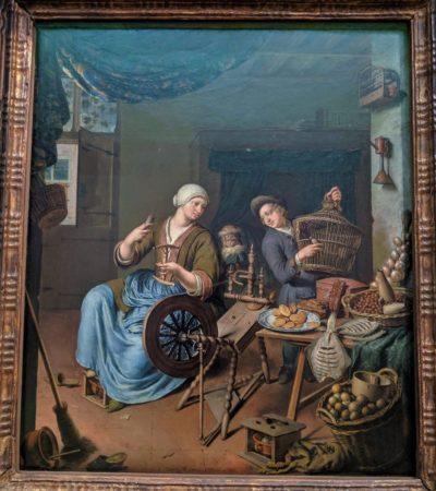 A tradeswoman(1734)