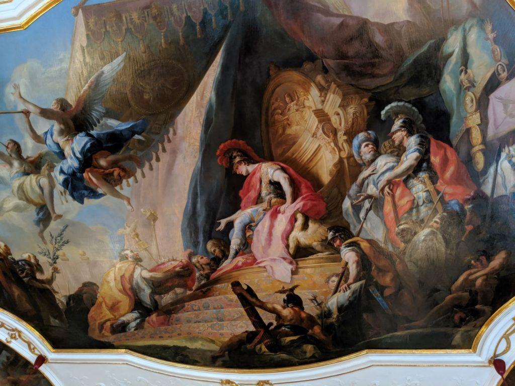 ザルツブルクのレジデンツ フレスコ画