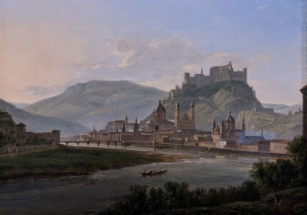 View from Mülln onto Salzburg(1815)