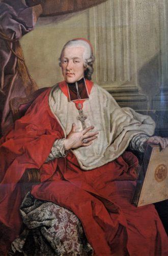 大司教 Hieronymus Graft Colloredo