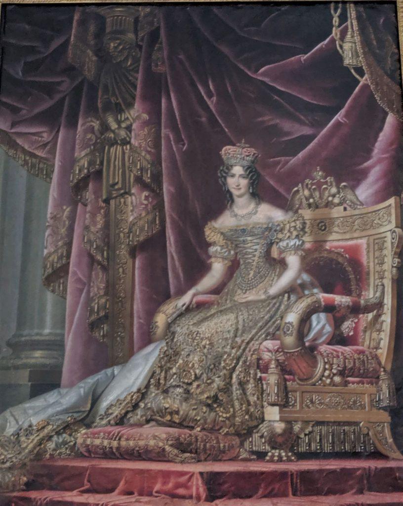 カロリーネ・アウグスタの肖像