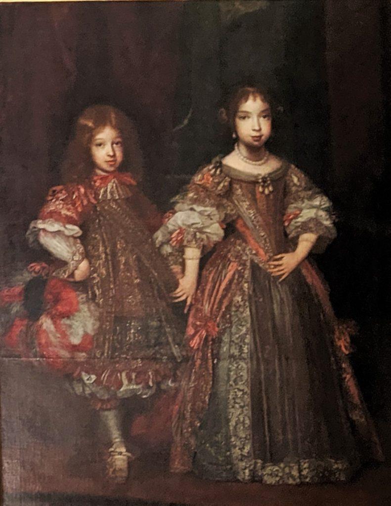 マリア・アンナ(1660年 - 1690年)とマクシミリアン2世エマヌエル((1662年 - 1726年)