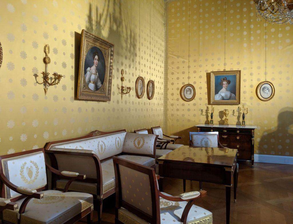 Recepion Room 初代バイエルン王マクシミリアン1世(マックス・ヨーゼフ)の家族の肖像画