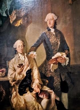 Joseph von Bayern und Graf Johann Anton von Seeau