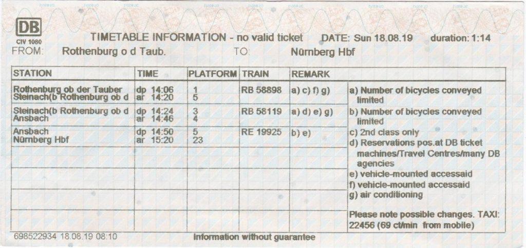 DB 時刻表
