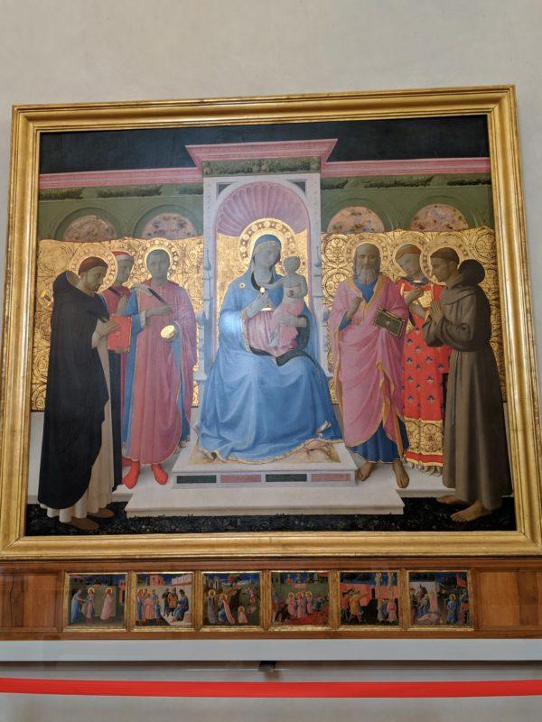Annalena Altarpiece/アンナレーナ祭壇画 サン・マルコ修道院