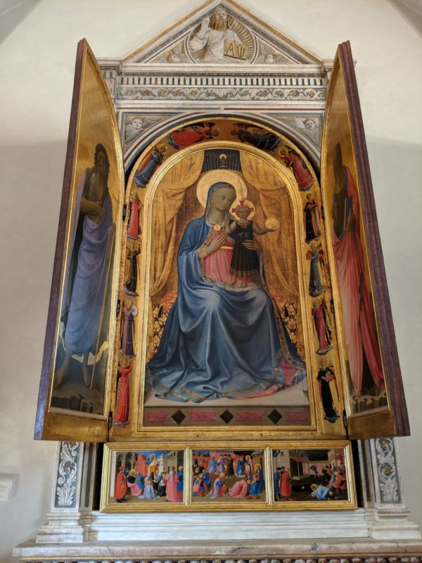 Bosco ai Frati Altarpiece Fra Angelico