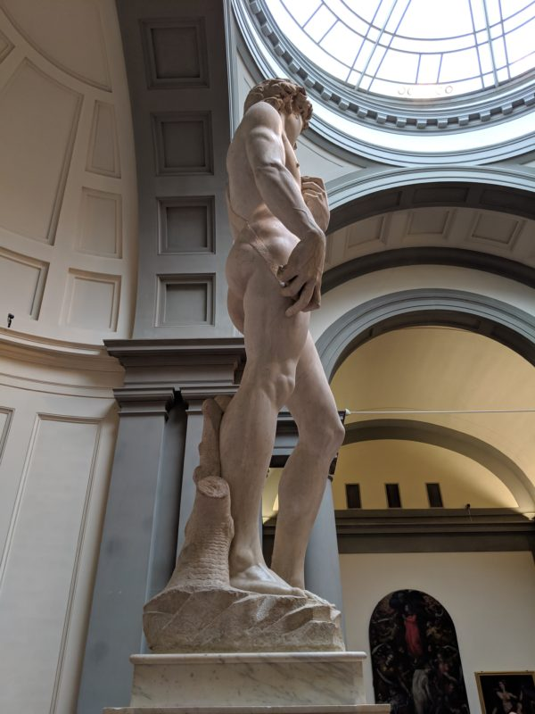 ミケランジェロ「ダヴィデ王像」