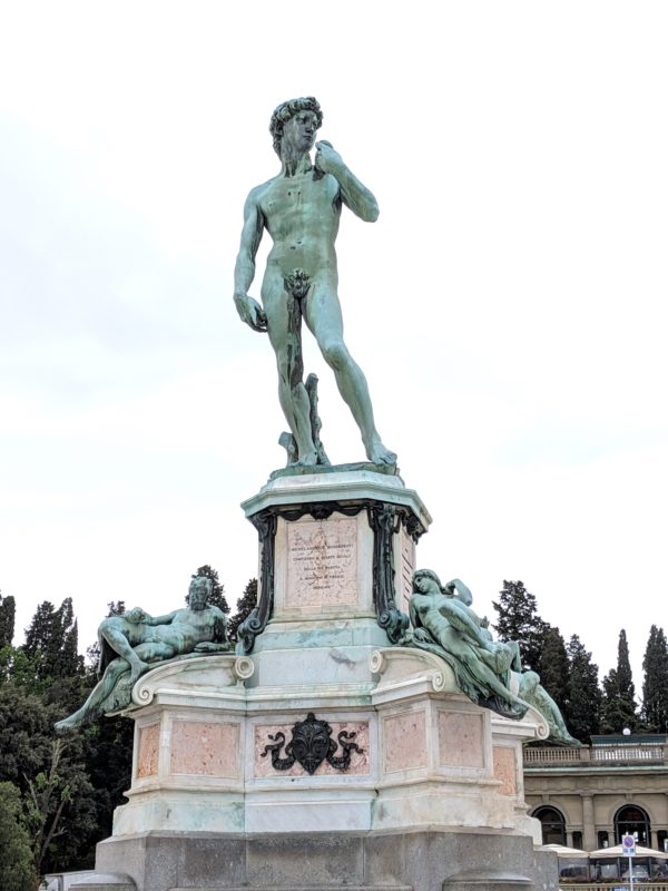 レプリカ ダヴィデ王像