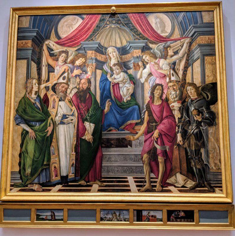 ボッティチェリ 「サン・バルナバの祭壇画」(1488年頃)