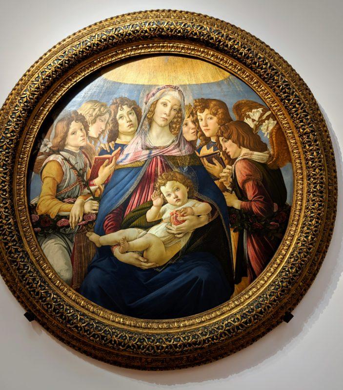 「ザクロの聖母」サンドロ・ボッティチェリ(1487年)
