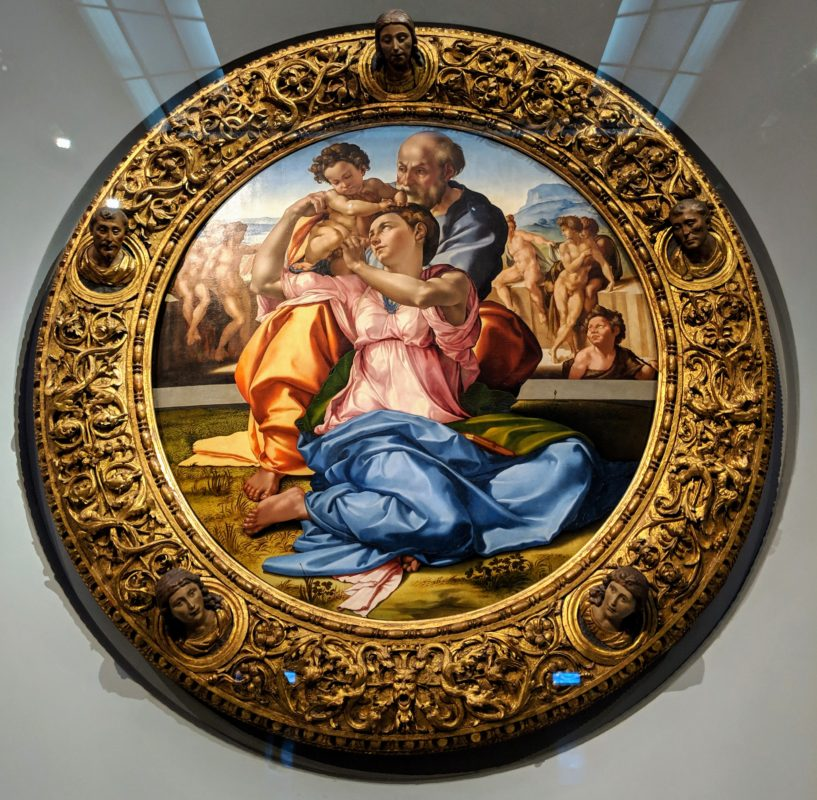 ミケランジェロ「聖家族」