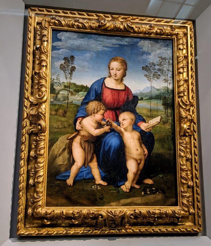 ラファエロ「ひわの聖母」1506年ころ