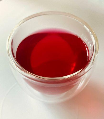 赤紫蘇リンゴ酢